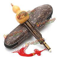 Phyllostachys нигра Тыква тыквенный флейта с/бб тон китайский инструмент меньшинства