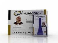 Капли Инспектор для собак менее 4 кг 1 пипетка экопром