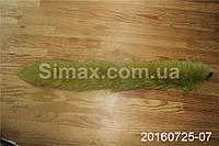Опушка из песца 60 см светлый беж