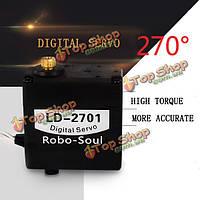 LD-2701 цифровой сервопривод 15кг 270° для робота-манипулятора, фото 1