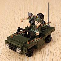 Гуди вооруженное нападение серия 600001a вооруженный разведчик головоломки, чтобы держать Enlighten блок игрушки