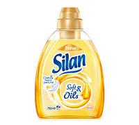 Silan Soft & Oils мускус смягчитель для белья 750 мл 21 стирка
