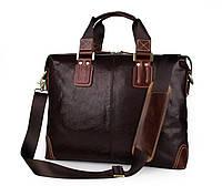 Горизонтальная кожаная сумка