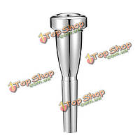 Пуля форма серебряный маленький труба мундштука
