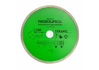 Алмазный диск для керамики, Spitce Resource 180мм (22-836) шт.