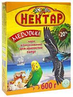 ЛОРИ Корм для волнистых попугаев Медовый Нектар 600гр, минимальная отгрузка 5 шт