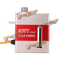 KST ds215mg v3.0 цифровой тигельные реверса сервоприводов для 450 RC РУ вертолет