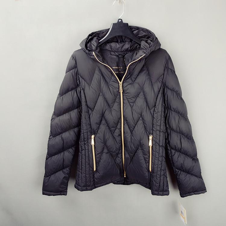 Женская стильна зимняя куртка.Натуральный утиный пух. Модель 861