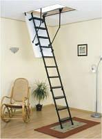 Лестница для чердака Oman, Metal T3, высота 280 см