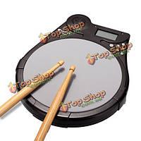 Cherub DP-950 многофункциональный цифровой электрический барабан накладка практика обучения накладка