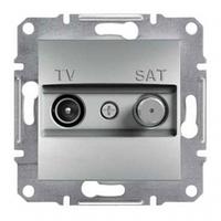 Розетка SCHNEIDER ASFORA EPH3400461 TV-SAT концевая (1 дБ) алюминий