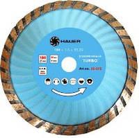 """Алмазный диск усиленный """"TURBO"""" Hauer (22-873) ø230мм (шт.)"""