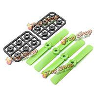 18 пар Diatone 4025 4 × 2.5 карданный 2xcw и 2xccw для радиоуправляемых Мультикоптер черный зеленый оранжевый, фото 1