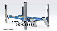 Подъемник 4-х стоечный (грузоподъёмность 5000кг, длина 5700мм, электрогидравлический, с задними сдвижными плат