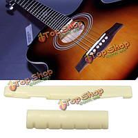 Пластиковые гайка басы Strat Tele гитары замены части крема ABS 2pcs щелевые