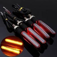Светодиодные поворотники для мотоцикла 4 шт