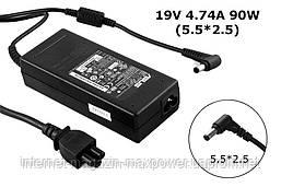 Блок живлення для ноутбука оригінальний Asus 19v 4.74 a 90w (5.5/2.5) EXA0904YD, ADP-90CD