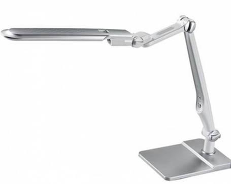 Светодиодная настольная лампа SEAN SL-1207 10W серебро, сенсор, диммер Код.58481, фото 2