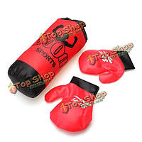 Бокс пыльным в перчатках подходит детям подарок