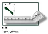 Потолочный плинтус MARBET В-15 2000 мм