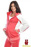 Спортивная куртка трикотажная для будущих мам