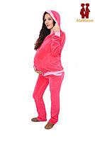 Спортивная куртка велюровая для беременных, фото 1