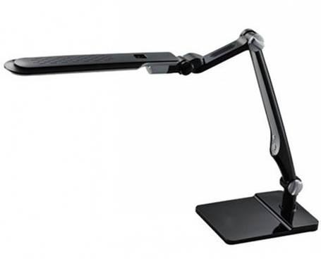 Светодиодная настольная лампа SEAN SL-1207 10W серебро/черный сенсор, диммер Код.58479, фото 2