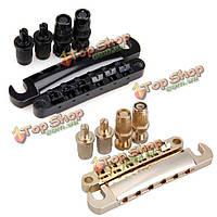 6 струна гитары LP мост хвостовик с монтажным шпилька Электрогитара частей