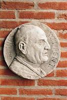 Настенный рельеф Медальон Иоанна Павела ХXIII