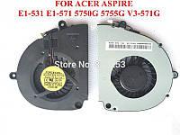 Вентилятор для ноутбука Acer V3-571G, V3-531 E1-531 E1-571 5755G 5750G