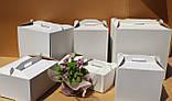 Картонная упаковка для тортов 350х350х200, фото 7