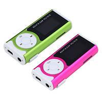 Плеер MP3-02; картридер; с экраном; microSD(T-Flash) до 16Gb; Металл