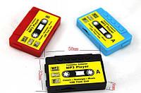 Плеер MP3-Касета c картридером; microSD(T-Flash) до 16Gb; Пластик