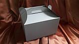 Картонная упаковка для тортов 350х350х200, фото 2