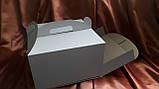 Картонная упаковка для тортов 350х350х200, фото 5