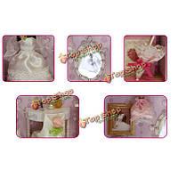 Cuteroom деревянные сборки подарка дня миниатюрные DollHouse DIY Kit Домашнее украшение валентина для девочки