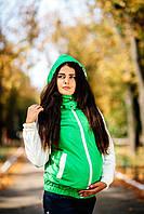 Куртка демисезонная 3в1: беременность, слингоношение, обычная куртка, фото 1
