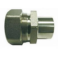Муфта труба-стальной бочонок для сварки 15 мм