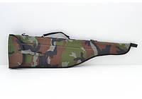 Чехол д/ружья 5200 камуфляжный на ткани.