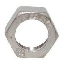 Накидная гайка (никелированная), 15 мм