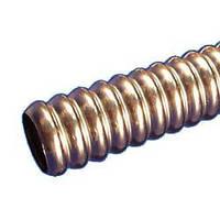 Труба гофрированная  нержавеющая сталь отожженная.  Диаметр 40 мм.