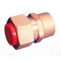 Муфта фитинг труба внутренння резьба (мама) для газа 20 мм