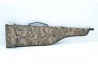 Чехол д/ружья  5201 камуфляжный на ткани
