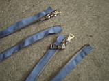 Застежка молния  голубая металл, фото 4