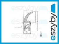 Уплотнения для окон трактора T49