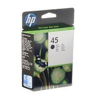 Картридж струйный HP для DJ 850C/1100C/1600C HP 45 Black (51645AE)