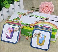 Книги для детей развивающие животных карты головоломки игрушки создают воображение Enlighten интерактивная 3D