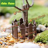 1шт 94мм деревянный забор Кукольный дом украшения орнамент сада растений горшки декор