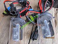 Лампы автомобильные Н4 ксенон Galaxy (5000К) 2 шт.