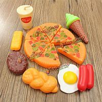 Пластиковая пицца набор продуктов 13шт